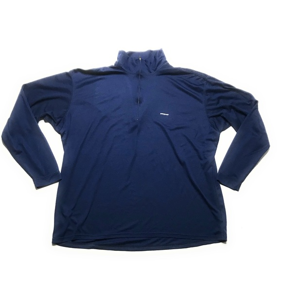 Patagonia Other - Patagonia Capeline 1/4 Zip Blue Pullover XXL